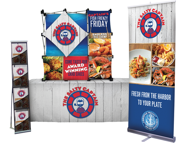 Table Top Trade Show Display Packages